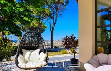 Villa con vista panoramica su golfo di Ancona